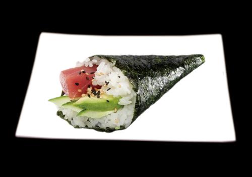 temaki_tonno avocado
